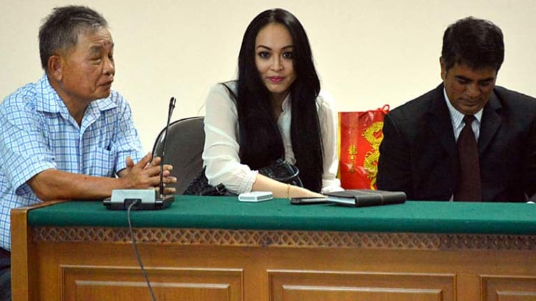 Angelina Sondakh ... her fame qualified her for politics.