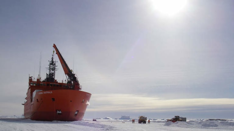 Intimate: Working in Australia's Antarctic research station involves living and working with your team all year round.