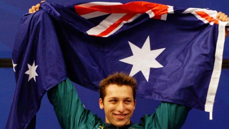 Victor ... the 400m freestyle final in Sydney in 2000.