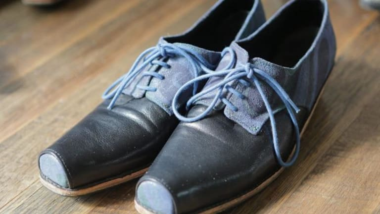 Shoes by Betty Ennis.