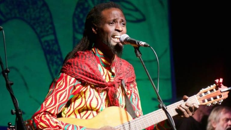 Lamine Sonko brings the ''voice of the ancient meanings'' to Melbourne.