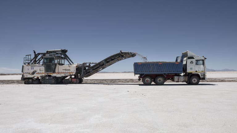 Galaxy wants to complement its hard rock lithium operations in Australia with a brines operation in South America.