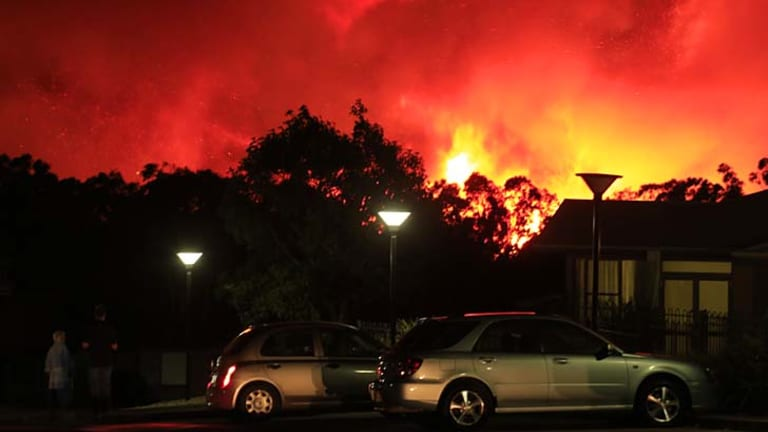 Natural disasters … the RFS embraced social media to spread information.