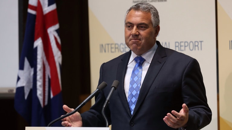 Treasurer plays blame game with our future: Joe Hockey.