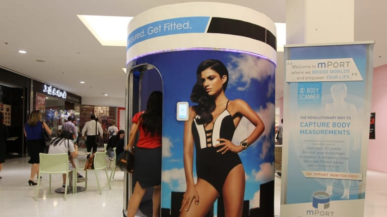 Naked 3D body scanners being rolled out across Australia do away with tape measures but are causing privacy fears.