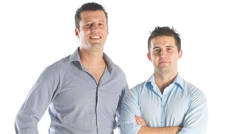 BigCommerce founders Eddie Machaalani and Mitchell Harper.
