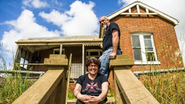 Founders of drop-in centre Zac's House, Glenn and Ros Stewart, have a five-year lease on an 1895 workers cottage in Harden.