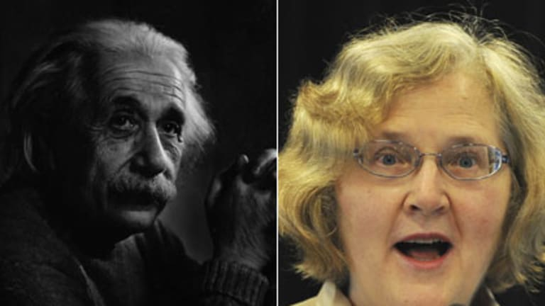 Dreamers ... Albert Einstein, and Australian-born Nobel-prize winner Elizabeth Blackburn.