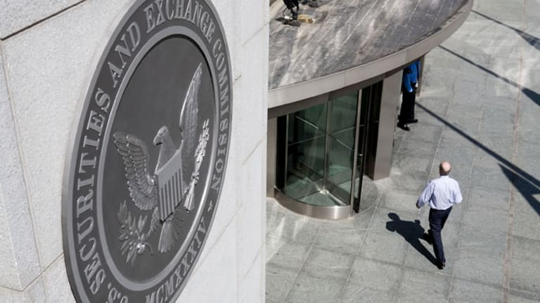 The headquarters of the US Securities and Exchange Commission (SEC) in Washington.