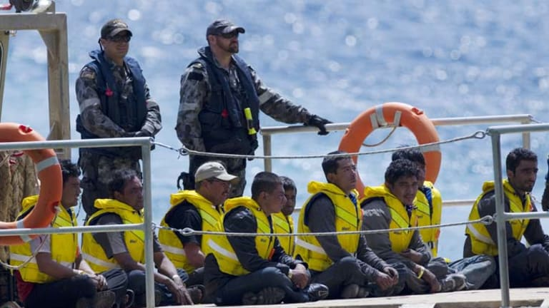 """""""It is a sound decision based on a universal principle of law which protects all Australians and those who come within our borders"""" ... George Newhouse, Afghan asylum seeker's lawyer."""