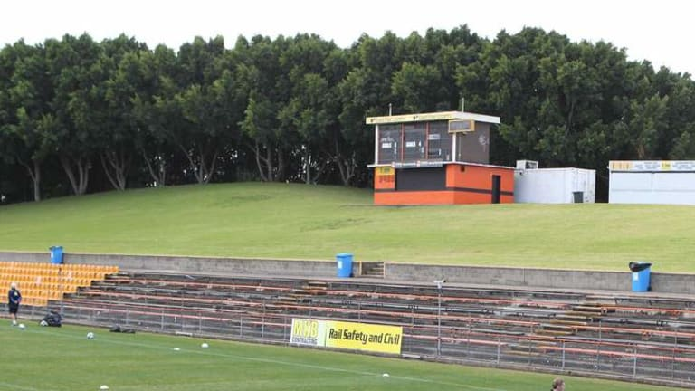 Low point: the Tigers are braced for their smallest crowd in nine years on Friday night.