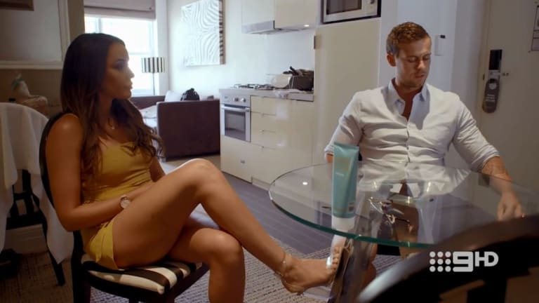 Bump in the road: Davina gets called out by Ryan for wanting to do a MAFS wife swap.