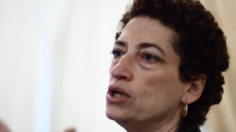 US historian Naomi Oreskes, the author of <i>Merchants of Doubt: How a Handful of Scientists Obscured the Truth on Issues from Tobacco Smoke to Global Warming</i>.