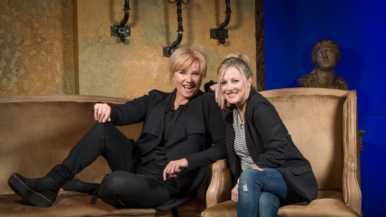 Deborra-lee Furness and Simone Buchanan, who starred in Shame, which came out in 1988.