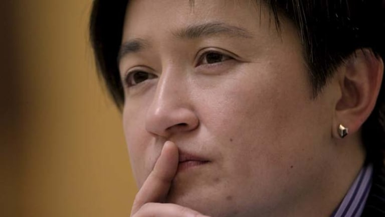 Same-sex marriage ... proponent Penny Wong believes change will come.