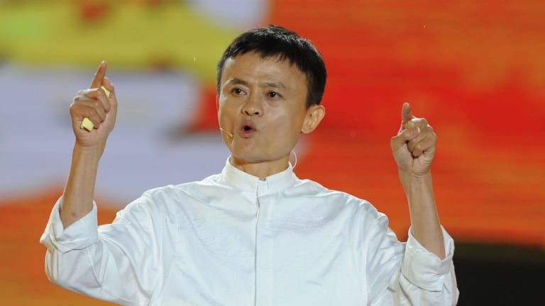 Innovator: Alibaba founder Jack Ma.