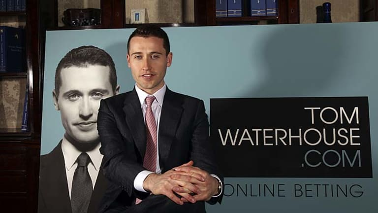The two faces of Tom Waterhouse: Bookie and pundit.