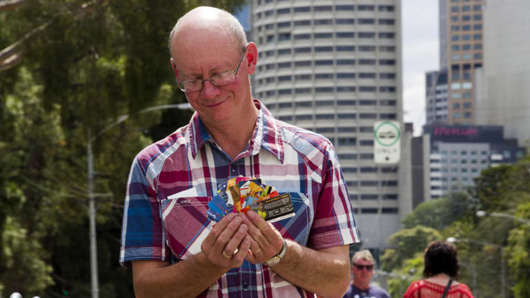 Ticket collector Gary Davey.