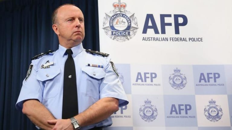 "AFP Assistant Commissioner Neil Gaughan said the reportedly plastic sword seized in the Sydney raids was ""a legitimate weapon""."