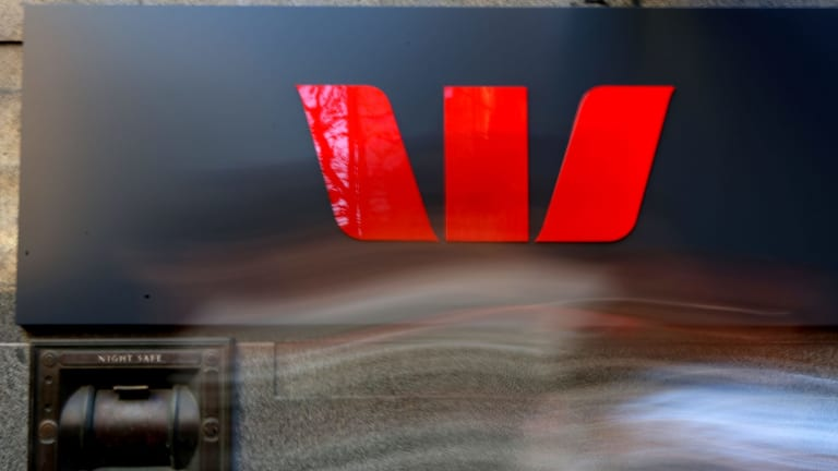The Australian dollar has fallen on Westpac's decision to increase its variable mortgage rates by 14 basis points.