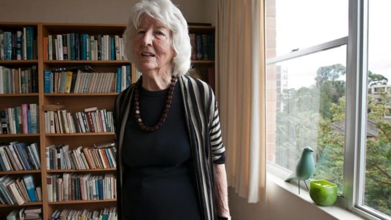 Elizabeth Harrower, shortlisted for her novel <i>In Certain Circles</i>, written in the 1960s.