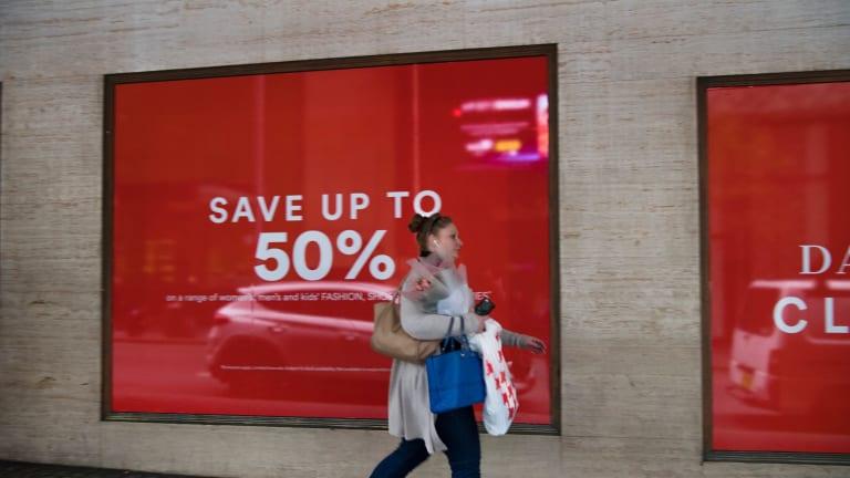 Retail sales rose 0.3 per cent in October.