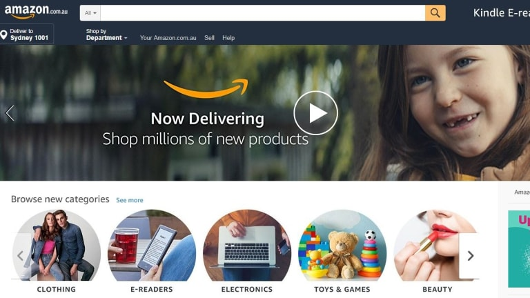 Amazon Australia is open for business.