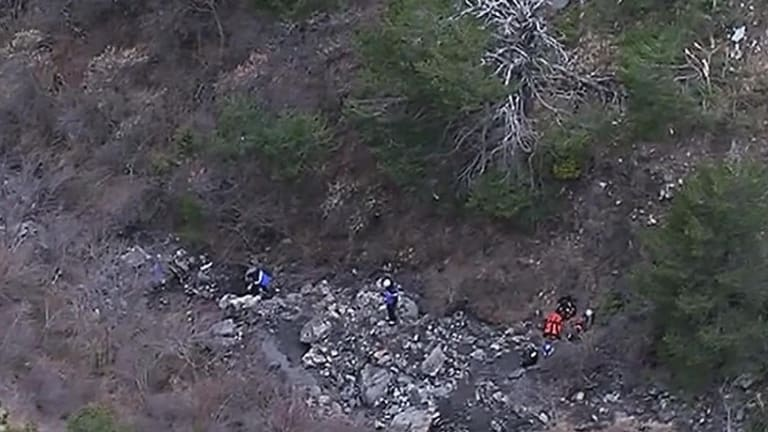 The Germanwings A320 crashed in a remote section of the French Alps.