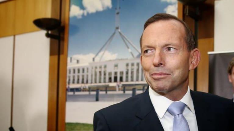 """Prime Minister Tony Abbott called for Australians to """"chip in""""."""