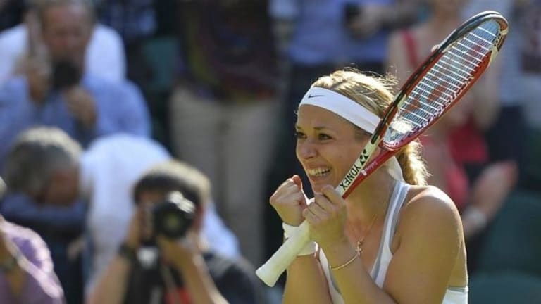 Last-minute switch: Sabine Lisicki has opted for guidance from her father.