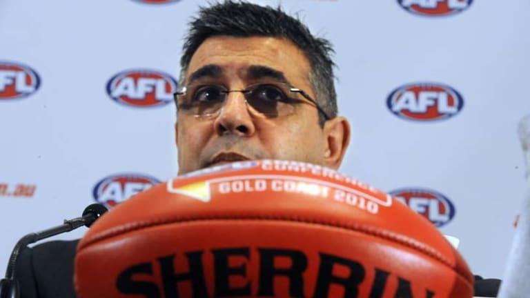 AFL chief executive Andrew Demetriou.