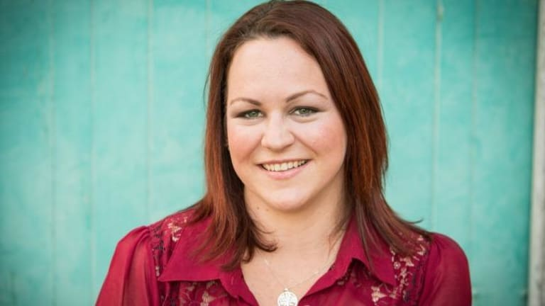 Delivery woman: Rachel Kunde has given birth to three surrogate babies and is planning to do it again.