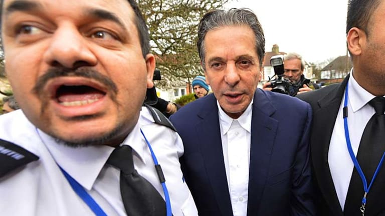 Cad: Charles Saatchi exposed his former wife to ridicule.