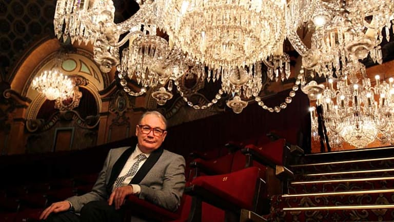 Feelings of gilt ... film historian and festival co-organiser Paul Brennan wants a new generation of cinema-goers to discover the opulence of the State Theatre.