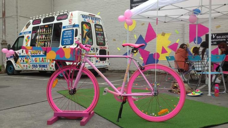 Don't lift a finger: Can't get to the salon? I Scream Nails will come to you. On a bike.