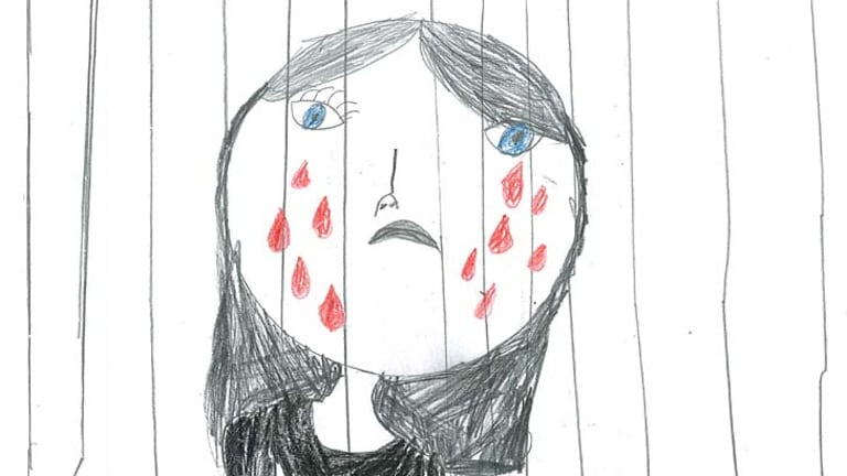 Bars and tears: Unpublished drawings by children being held in immigration detention.