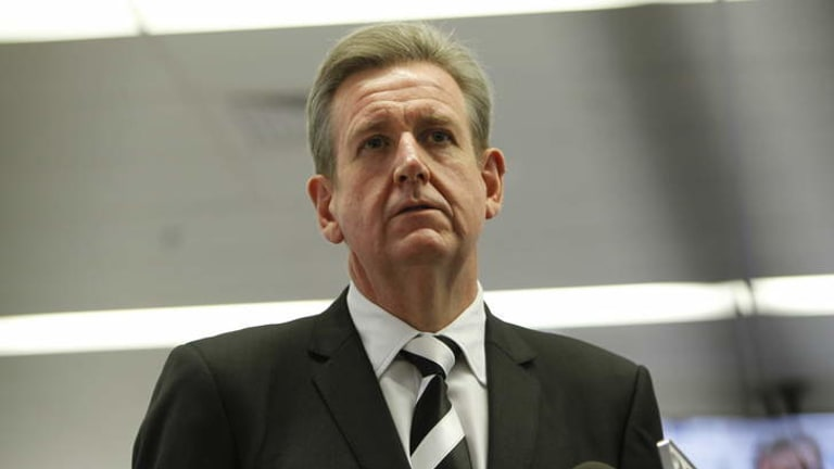 """""""What the hell is going on?"""": NSW Premier Barry O'Farrell."""