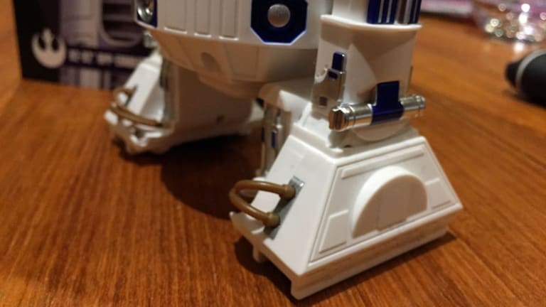 There are lots of nice touches in Artoo's bodywork.