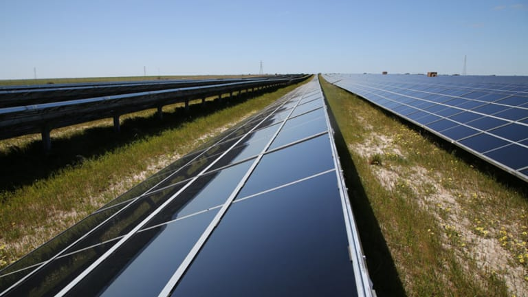 The Greenough River Solar Farm was switched on this morning.