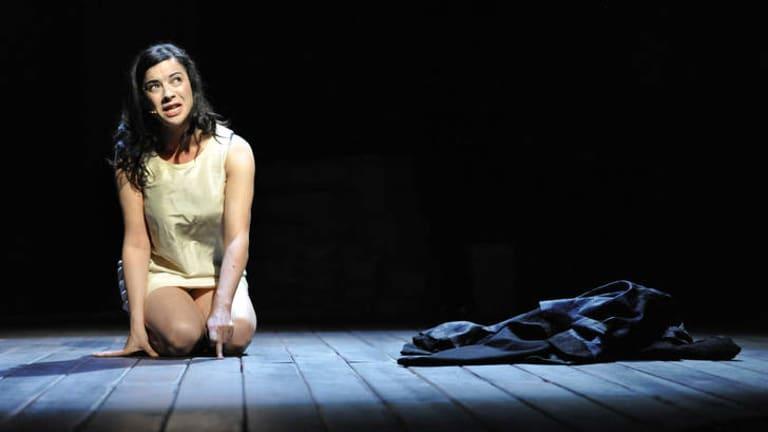 Camille O'Sullivan in<i> The Rape of Lucrece</i>.