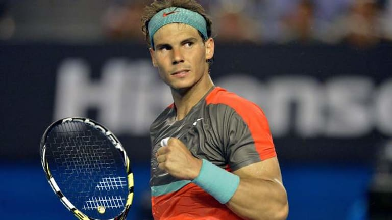 Prime time: John McEnroe says Rafael Nadal is 'better than ever'.