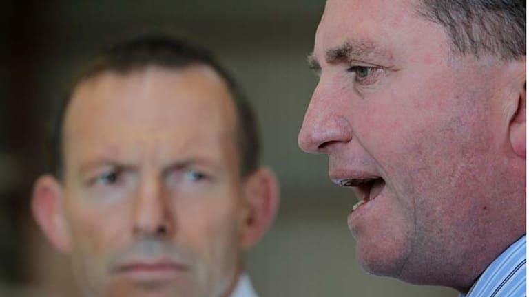 Jesuit influences:  Tony Abbott  and Barnaby Joyce are both old Ignatians.