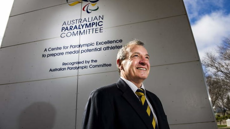 Legacy: Greg Hartung has left huge shoes to fill at the Australian Paralympic Committee.
