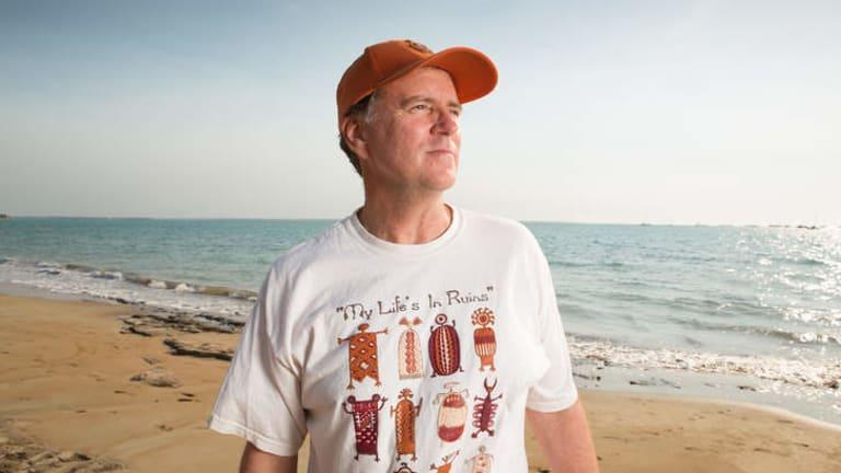 The money trail … anthropologist Ian McIntosh.