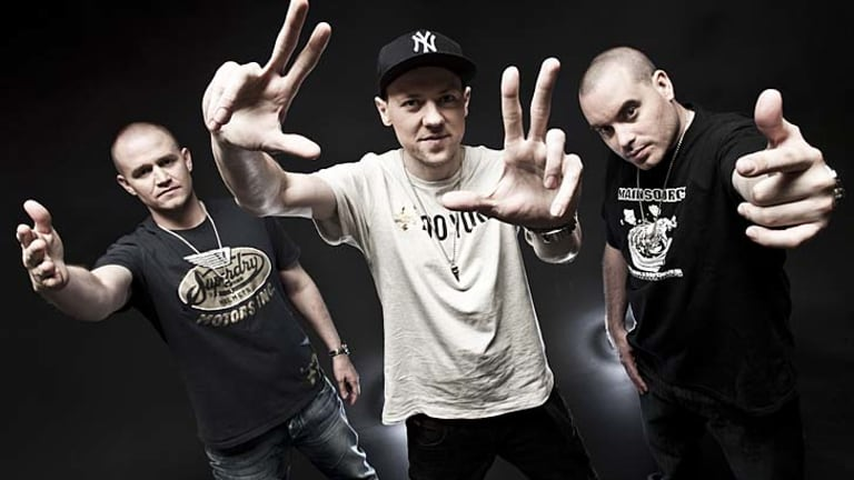 Hilltop Hoods ... most popular artists downloaded in Australia.