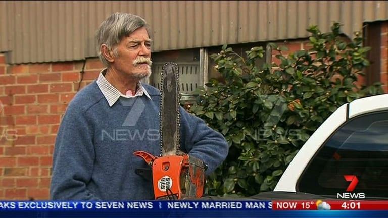 'Aussie guts': Bill Singleton.