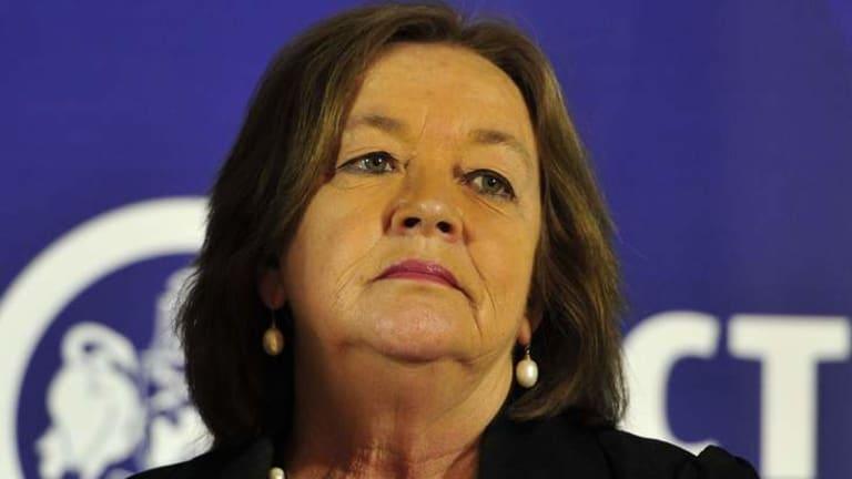ACT Education Minister Joy Burch.