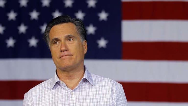 In the hot seat ... Mitt Romney.