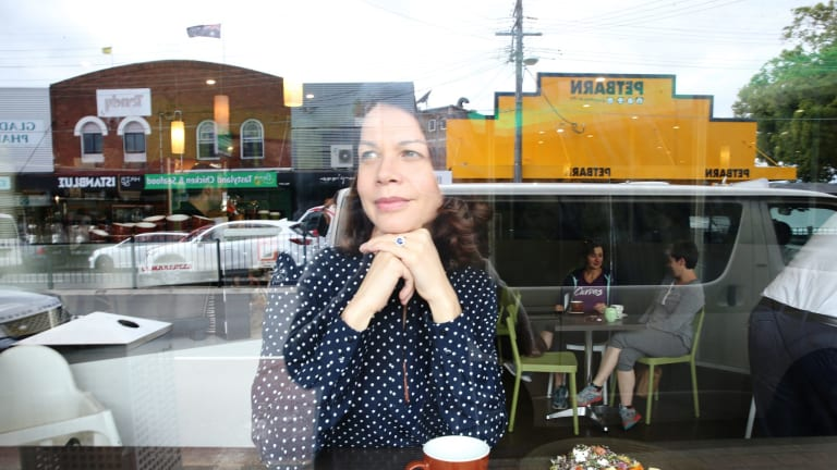 """Amber Daines, at her local cafe The Platinum Coffee House in Gladesville, says a memorable dining experience """"doesn't have to be expensive""""."""