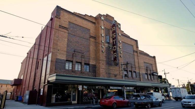 The Astor Cinema in St Kilda. Photo: Eddie Jim.